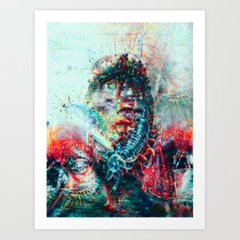 Sci-Fi Daymare - Portrait Series - Limited Edition 60 ex. Art Print