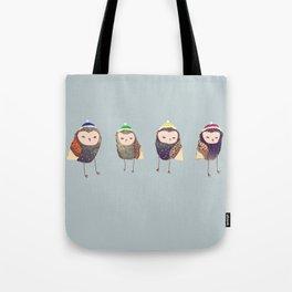 Owls. Tote Bag