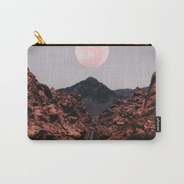 Road Red Moon Carry-All Pouch