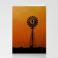 kansas Stationery Cards featuring Kansas by RDelean