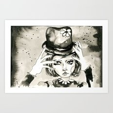 Magic hands Art Print
