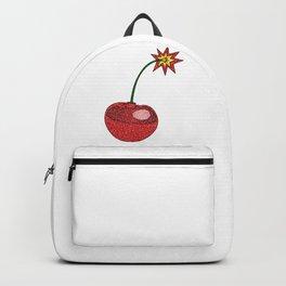 Glitter Cherry Bomb Backpack