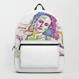 Brie Larson (Creative Illustration Art) Backpack