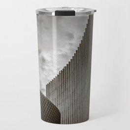 Texturized Brutalism Travel Mug