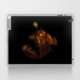 Deep Sea Anglerfish Watercolor Laptop & iPad Skin