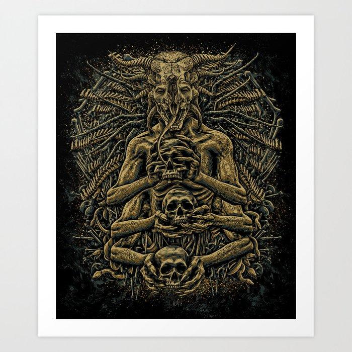 Evil Kunstdrucke