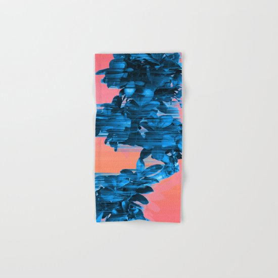 Velocious Blue Little Tree Hand & Bath Towel