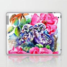 Little Saw Whet Owls Laptop & iPad Skin