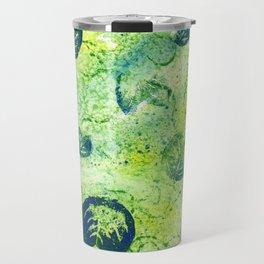 Lily Pad Textile 2 Travel Mug