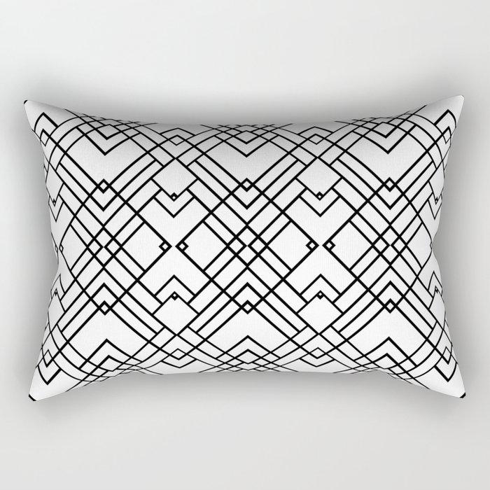 Map 20 Rectangular Pillow