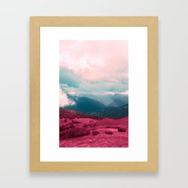 Leave Behind Framed Art Print