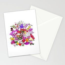 A celebration of orchids Stationery Cards
