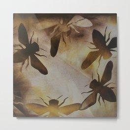 Bee dance Metal Print