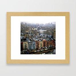 Essex Street, NYC, 1981 Framed Art Print