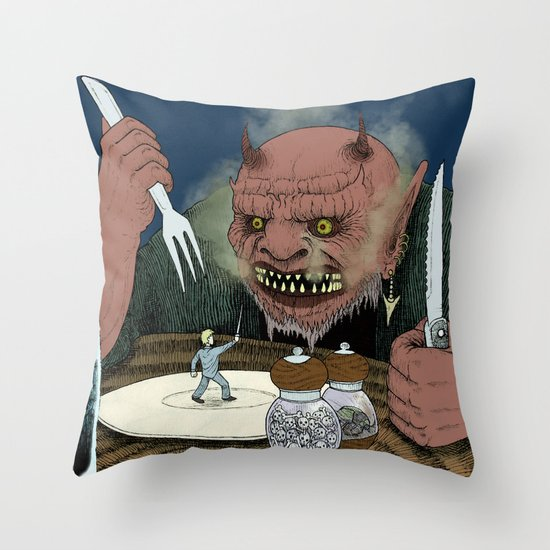 Appetizer Throw Pillow