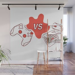 Consoles vs pc games Wall Mural