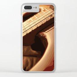 Guitar Clear iPhone Case