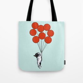 I Believe I Can Fly French Bulldog Tote Bag