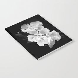 geranium in bw Notebook
