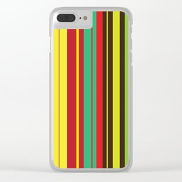 Lineal Color Clear iPhone Case