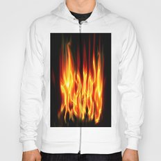Abstract flames Hoody