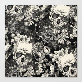 SKULLS HALLOWEEN SKULL Canvas Print