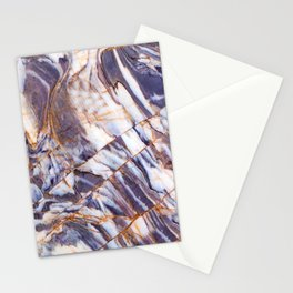 Grey marble Stationery Cards