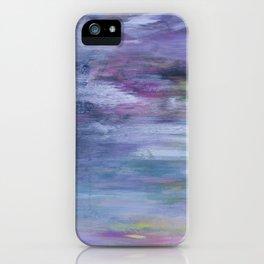Hazy landscape iPhone Case