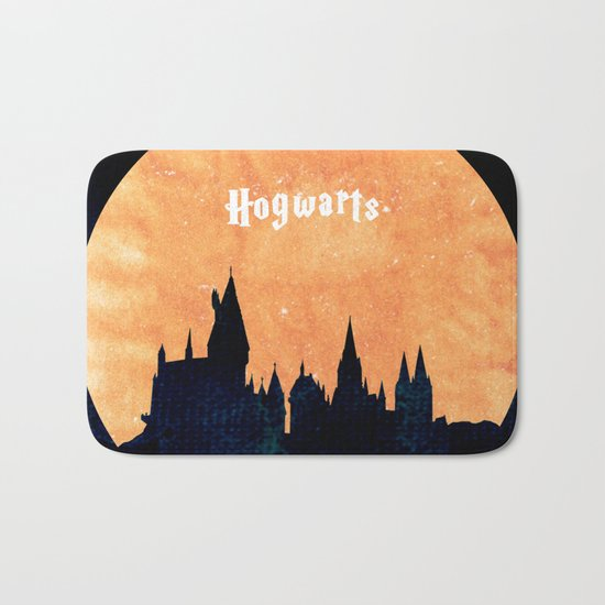 Hogwarts Bath Mat