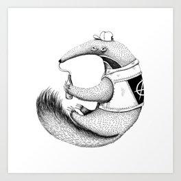 ant-eater Art Print