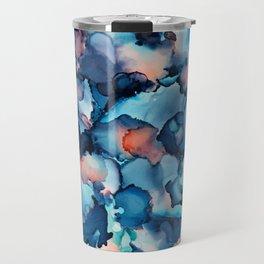 Alcohol Ink Painting 1 Travel Mug