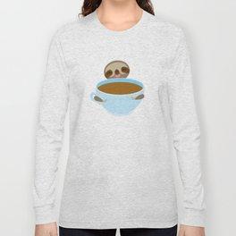 sloth & coffee Long Sleeve T-shirt