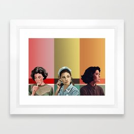 The Girls of Twin Peaks Framed Art Print