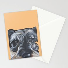 Peter the Schnauzer Stationery Cards