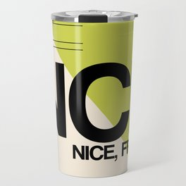 NCE Nice Luggage Tag 2 Travel Mug