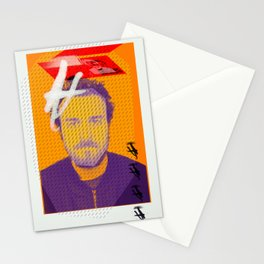 Pop Art Portrait Stationery Cards