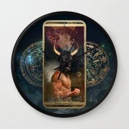 Zodiac : Taurus Wall Clock