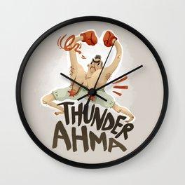 Thunder Ahma Wall Clock