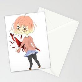 Mirai Kuriyama Chibi Stationery Cards