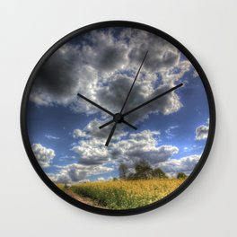 Peace And Quiet Wall Clock