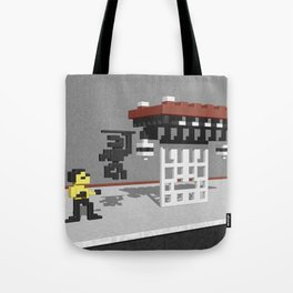 BruceLee Commodore 64 game tribute Tote Bag