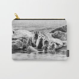 Harbor Seal Hello Carry-All Pouch