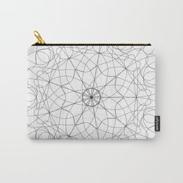 mandala art - floral Carry-All Pouch