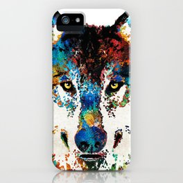 wolfwolve art iPhone Case