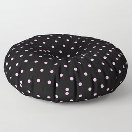 Dotted (Pink & Black Pattern) Floor Pillow