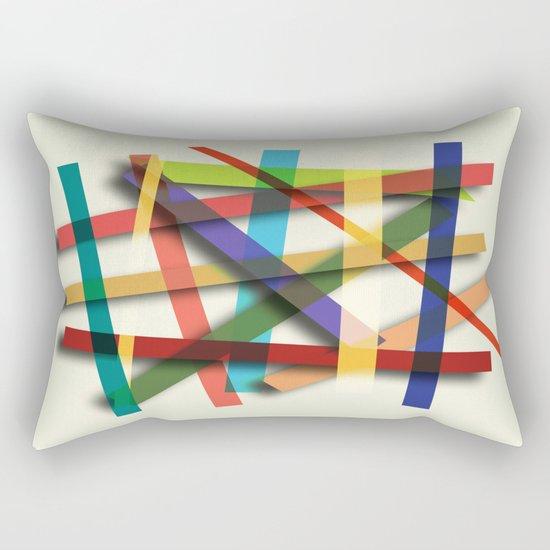 Abstract #436 Rectangular Pillow