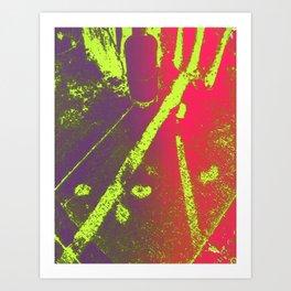 UV Shift Art Print