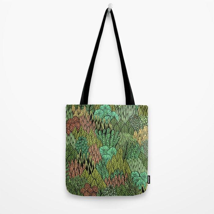 April Leaves Tote Bag