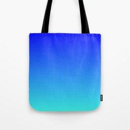 Caribbean Water Gradient Tote Bag