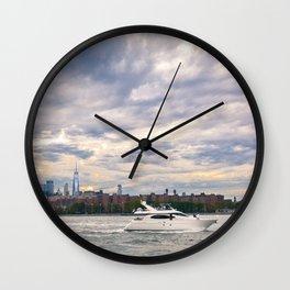 Lil Yacht-y Wall Clock